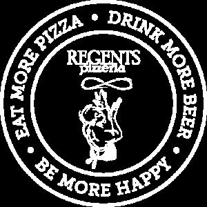 Regents Pizza - Badge Logo
