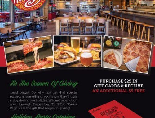Give the Gift of Pizza and Beer