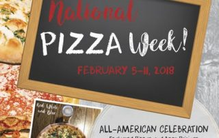 National Pizza Week 2018