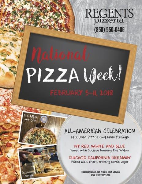 National Pizza Week 2018