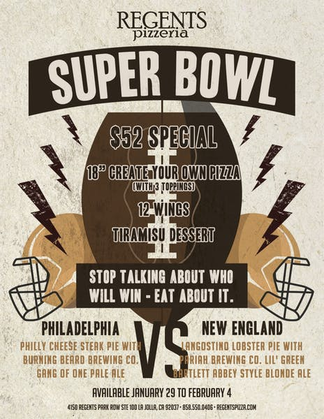 Regents Super Bowl Special 2018