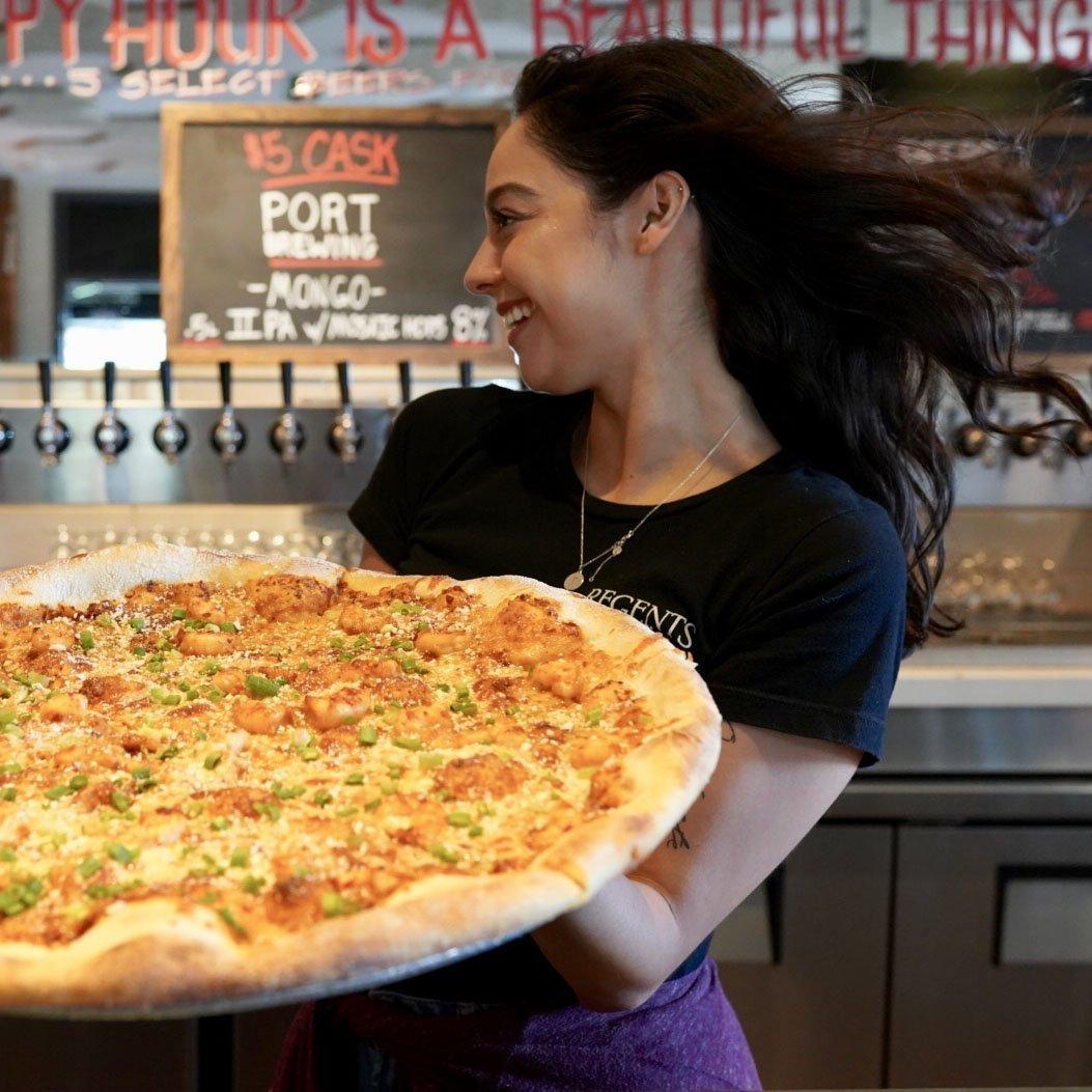 Regents Pizza - Shrimp Diablo