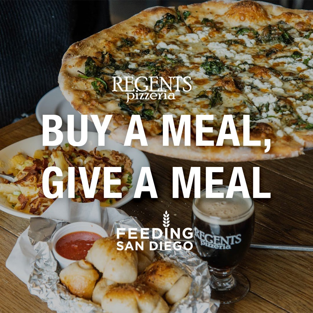 Buy a meal, Give a meal. Feeding San Diego Promotion