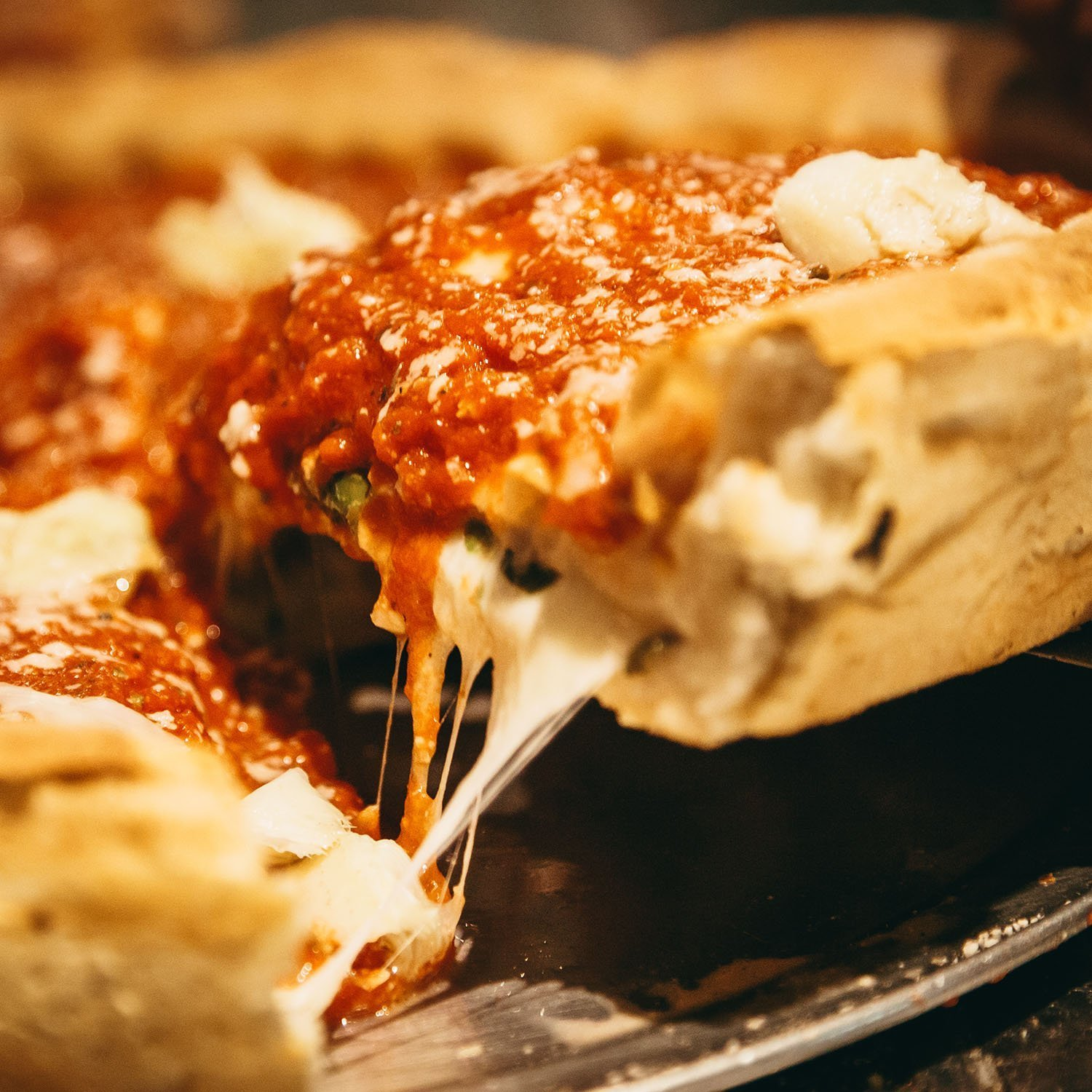 Regents Chicago Pizza Slice