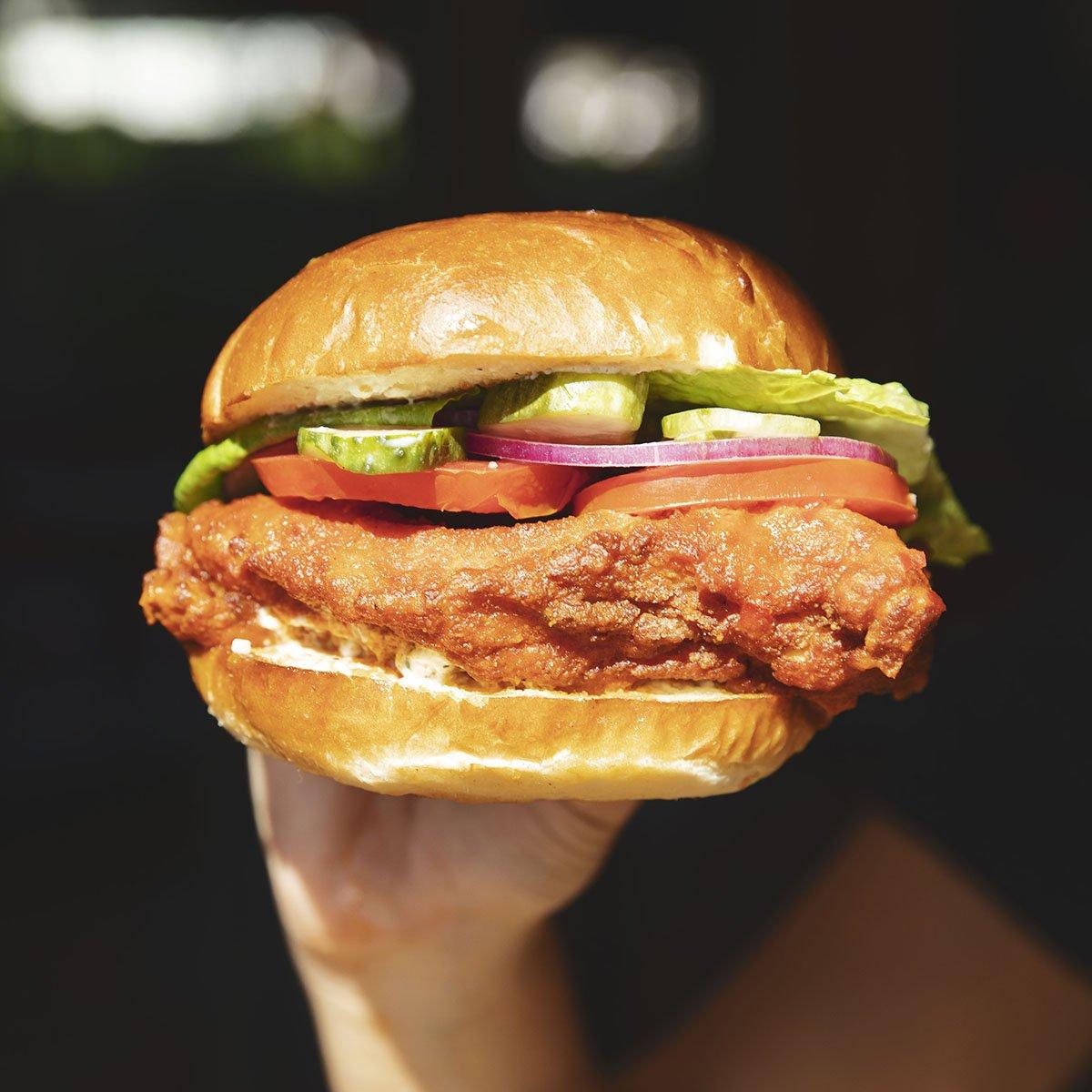 Naked Chicken Sandwich