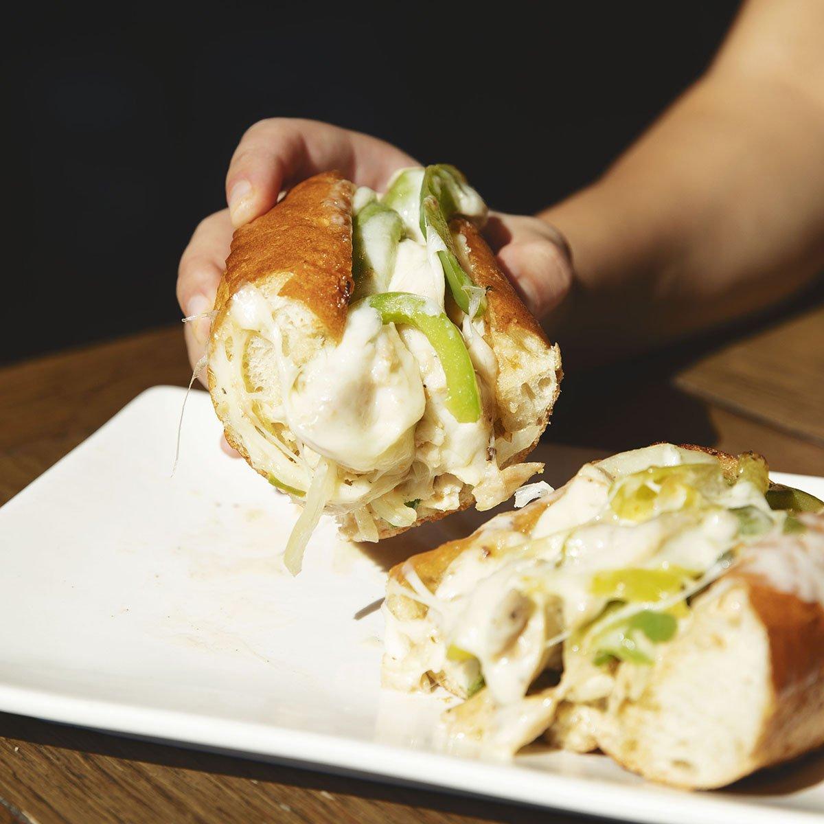 4 Pepper Chicken Cheesesteak Roll